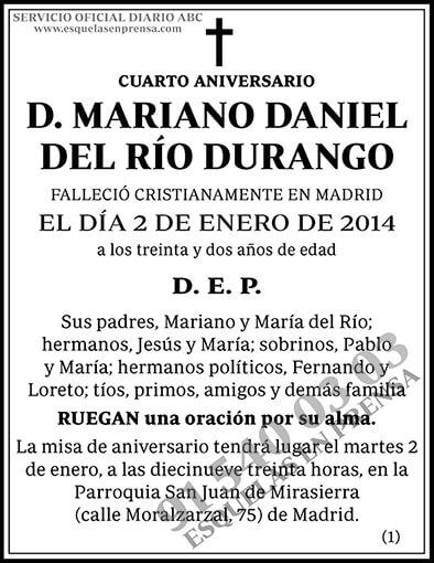 Mariano Daniel del Río Durango